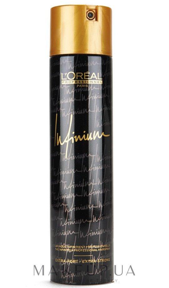 Лак для волос экстра-сильной фиксации - L'Oreal Professionnel Infinium Extra-Fort Hairspray — фото 300ml