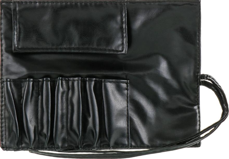 Чехол для кистей, 7шт, черный - Aise Line Case For MakeUp Brush