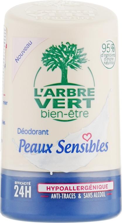 Дезодорант для чувствительной кожи - L'Arbre Vert Sensitive Deodorant