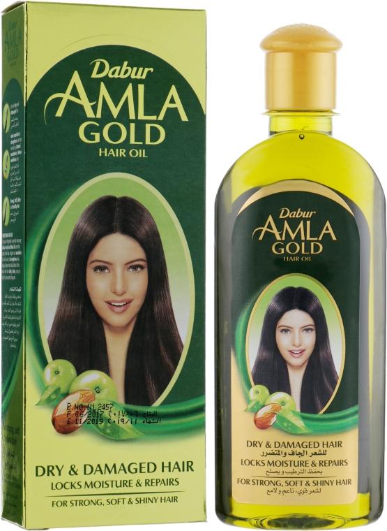"""Масло для волос """"Золотое"""" - Dabur Amla Gold Hair Oil"""