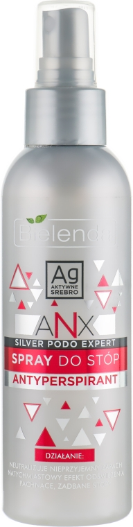 Спрей-антиперспирант для ног - Bielenda ANX Podo Detox Foot Antiperspirant Spray