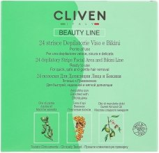 Духи, Парфюмерия, косметика Полоски для депиляции лица и зоны бикини - Cliven Beauty Line Strips