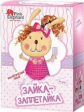 "Духи, Парфюмерия, косметика Косметический набор ""Зайка-заплетайка"" - Pink Elephant For Girls (hair/spray/150ml + shamp/cond/250ml)"