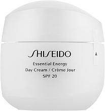 Дневной энергетический крем для лица - Shiseido Essential Energy Day Cream SPF20  — фото N1