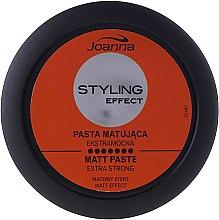 Моделирующая матирующая паста для волос - Joanna Styling Effect Extra Strong Matt Paste — фото N4
