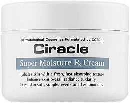 Духи, Парфюмерия, косметика Крем для лица увлажняющий - Ciracle Super Moisture Rx Cream