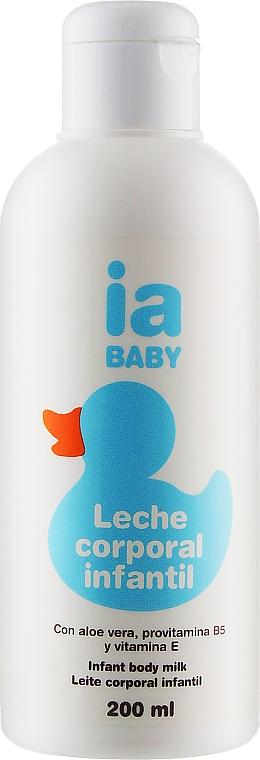 Детское увлажняющее молочко для тела - Interapothek Leche Corporal Infantil
