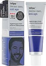 Духи, Парфюмерия, косметика Восстанавливающий крем против морщин 40+ - Tolpa Dermo Men Regenerating Anti-Wrinkle Cream