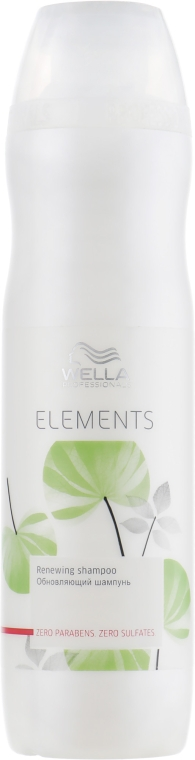 Обновляющий шампунь - Wella Professionals Elements Renewing Shampoo