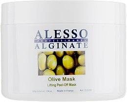 Духи, Парфюмерия, косметика Маска для лица альгинатная, лифтинговая c экстрактом листьев оливы - Alesso Professionnel Alginate Olive Peel-Off Lifting Mask