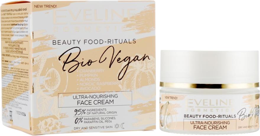 Ультрапитательный крем для лица - Eveline Cosmetics Beauty Foods Bio Vegan Cream