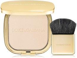 Духи, Парфюмерия, косметика Пудра для придания сияния коже - Dolce&Gabbana The Illuminator Powder