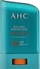 Духи, Парфюмерия, косметика Солнцезащитный стик для лица - AHC Natural Fresh Perfection Sun Stick SPF 50+ PA++++