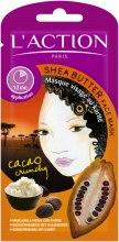 Духи, Парфюмерия, косметика Маска для лица с рисовым маслом - L`Action Paris Lifestyle Shea Butter Face Mask