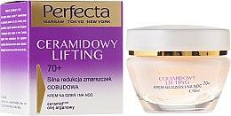Антивозрастной крем для лица - Perfecta Ceramid Lift 70+ Face Cream — фото N1