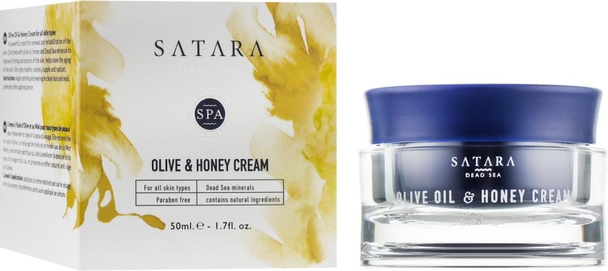 Крем с оливковым маслом и мёдом - Satara Dead Sea Olive Oil & Honey Cream