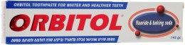 Духи, Парфюмерия, косметика Зубная паста с флюоридом и содой - Orbitol Fluoride and Baking Soda Toothpaste