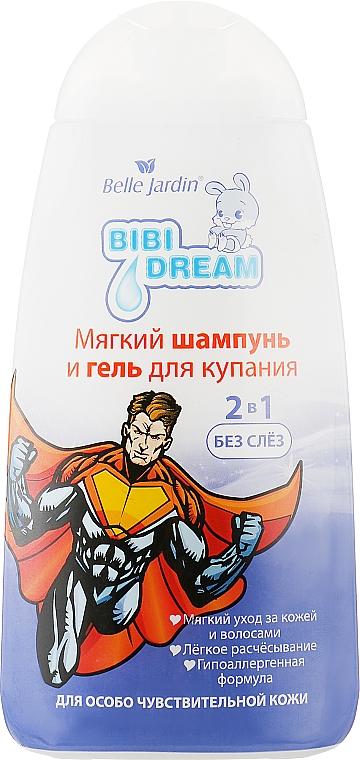 """Шампунь и гель 2в1 для купания """"Череда"""" - Belle Jardin Bibi Dream"""