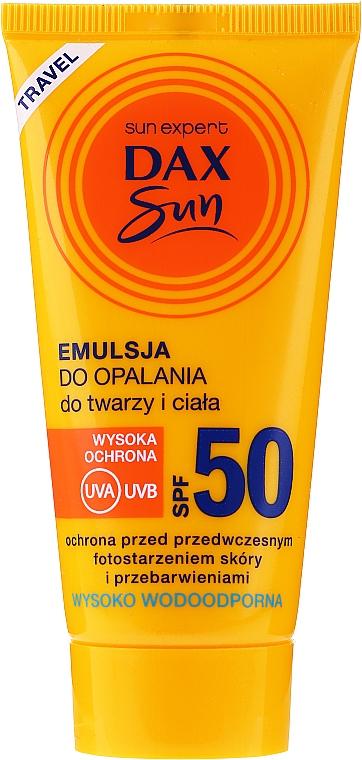 Солнцезащитная эмульсия для лица и тела - Dax Sun Emulsion SPF50