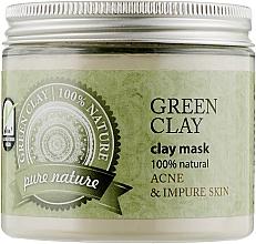 Духи, Парфюмерия, косметика Зеленая косметическая глина - Organique Argillotherapy Green Clay