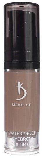 Гель для бровей цветной водостойкий - Kodi Professional Waterproof Eyebrow Color Gel