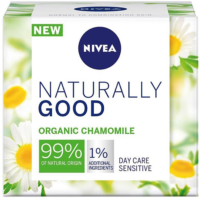 Дневной крем для чувствительной кожи лица - Nivea Naturally Good Day Sensitive Care