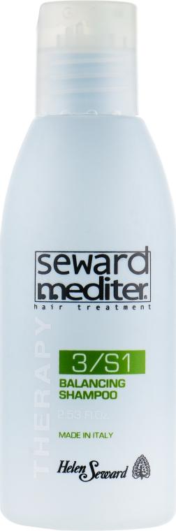 Себорегулирующий шампунь для жирной кожи головы - Helen Seward Therapy Balancing Shampoo