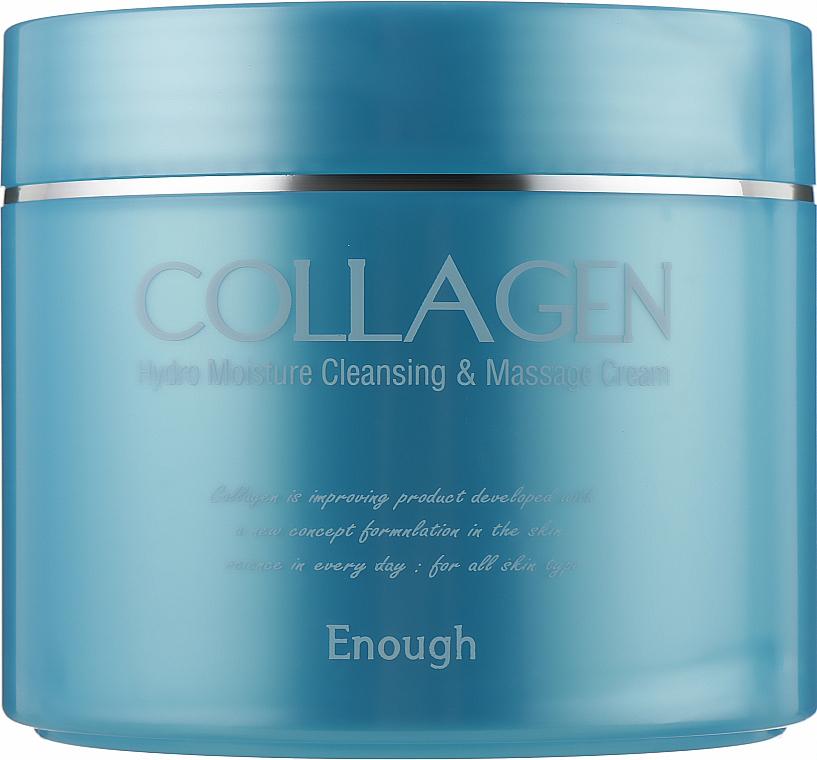 Увлажняющий массажный крем с коллагеном для тела - Enough Collagen Hydro Moisture Cleansing Massage Cream