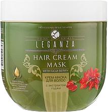 Духи, Парфюмерия, косметика Крем-маска для волос с экстрактом годжи - Leganza Cream Hair Mask With Extract Of Goji Berry (без дозатора)
