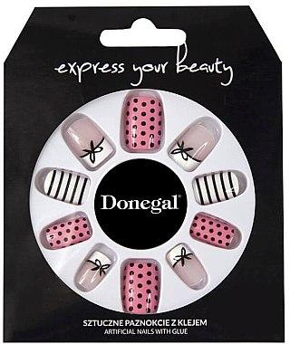 Набор искусственных ногтей - Donegal Express Your Beauty — фото N1