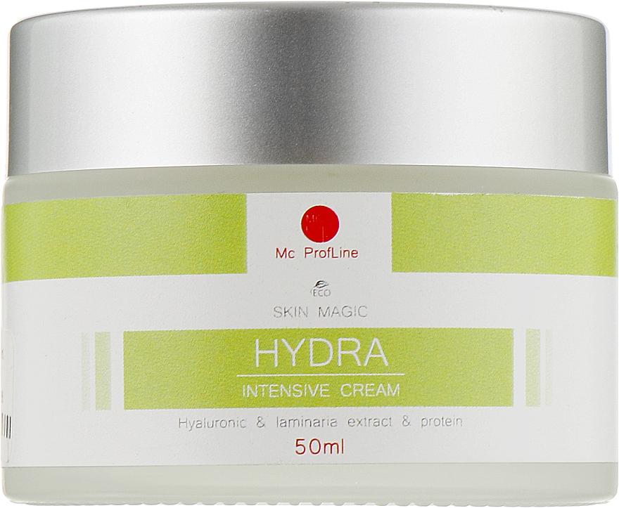Глубоко увлажняющий крем с гиалуроновой кислотой, протеином и экстрактом ламинарии - Miss Claire MC Profline Skin Magic Hydra Intensive Cream