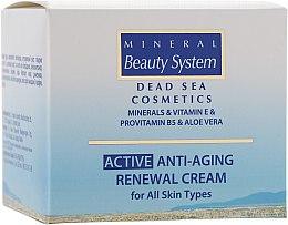Духи, Парфюмерия, косметика Антивозрастной восстанавливающий дневной крем для всех типов кожи 40+ - Mineral Beauty System Active Anti-Aging Renewal Cream