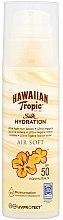 Духи, Парфюмерия, косметика Солнцезащитный лосьон для тела - Hawaiian Tropic Silk Hydration Air Soft Lotion SPF 50