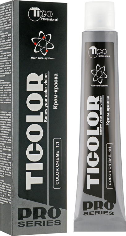 Стойкая профессиональная крем-краска для волос - Tico Professional Ticolor Classic