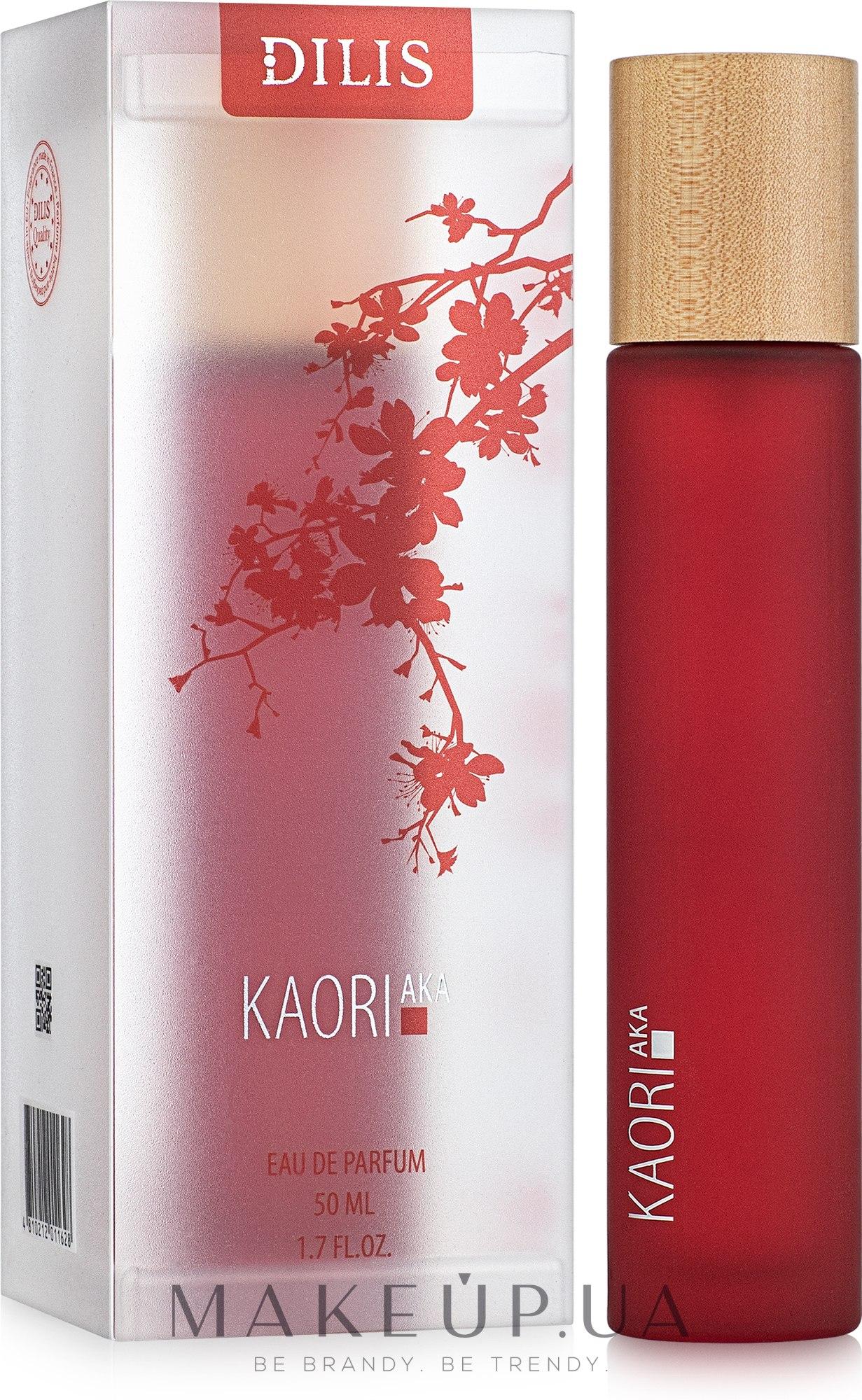 Dilis Parfum Kaoriaka - Парфюмированная вода — фото 50ml