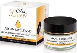 Духи, Парфюмерия, косметика Крем питательный для лица от морщин - Celia De Luxe Royal Argan Nourishing Cream