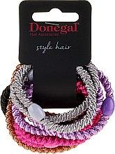 Духи, Парфюмерия, косметика Резинки для волос Glossy, 10 шт - Donegal