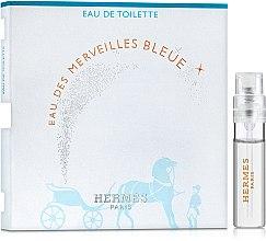 Духи, Парфюмерия, косметика Hermes Eau des Merveilles Bleue - Туалетная вода (пробник)