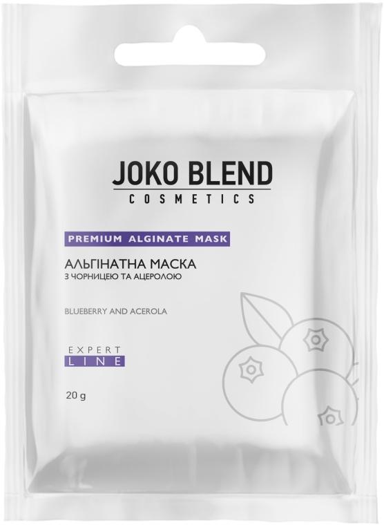 Альгинатная маска с черникой и ацеролой - Joko Blend Premium Alginate Mask