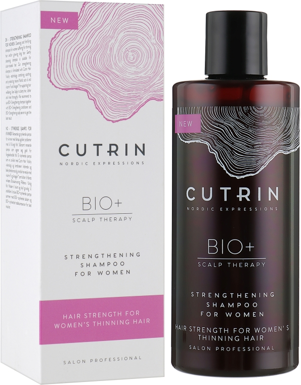 Укрепляющий шампунь - Cutrin Bio+ Strengthening Shampoo