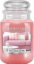 Парфумерія, косметика Ароматична свічка в банці - Country Candle Welcome Home