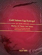 Духи, Парфюмерия, косметика Омолаживающая гидрогелевая маска с золотом и вытяжкой из икры лосося - Ronas Gold Salmon Egg Hydrogel