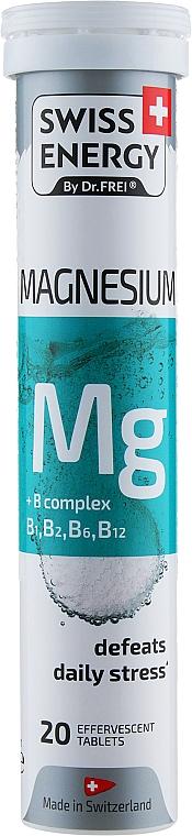 """Витамины шипучие """"Магний+В комплекс"""" - Swiss Energy Magnesium"""