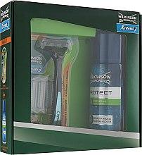 Духи, Парфюмерия, косметика Набор - Wilkinson Sword Xtreme3 Hybrid Shave Kit (foam/200ml + blade)