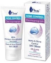 Духи, Парфюмерия, косметика Матирующий дневной крем - Ava Laboratorium Acne Control Matt & Shine Control Day Cream