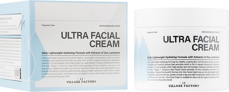 Увлажняющий крем для лица с экстрактом ламинарии - Village11 Factory Ultra Facial Cream