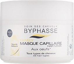 Духи, Парфюмерия, косметика Маска с яичным желтком для всех типов волос - Byphasse Family Multivitamin Complexe Mask
