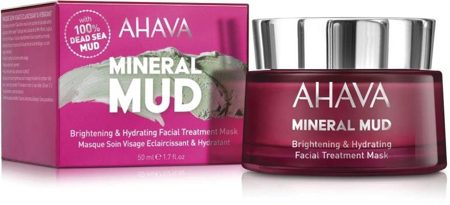 Увлажняющая маска для лица - Ahava Mineral Mud Brightening & Hydrating Facial Treatment Mask