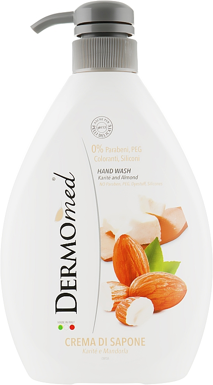 """Крем-мыло """"Масло карите и миндаль"""" - Dermomed Cream Soap Karite and Almond"""