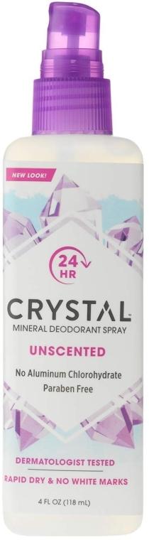 Дезодорант-спрей для тела - Crystal Body Deodorant Spray